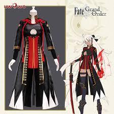 <b>UWOWO Anime FGO</b> Game Cosplay Costume Okita Souji Cosplay ...