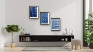 hand block printed fabric wall decor