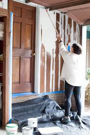 Can fake wood paneling be painted successfully....YES. Learn what paint