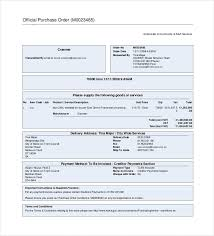Purchase Order Invoice Template 53 Purchase Order Examples Pdf Doc Free Premium Templates