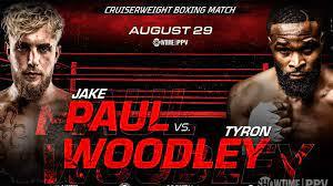 How to watch Jake Paul vs Tyron Woodley ...