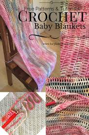 Easy Crochet Baby Blanket Patterns Amazing Quick And Easy Crochet Baby Blanket Lucy Kate Crochet