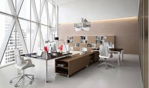 stylish office decor. Contemporary Minimalist Office Design With Stylish Tables And Chairs Also Filing Cabinet Decoration Décor Decor G