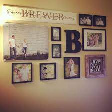wedding picture walls