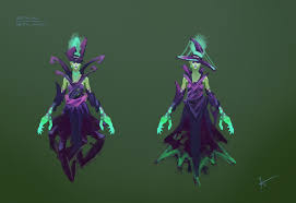 dota2 death prophet deadly witch polycount