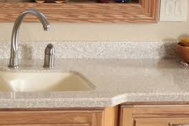solid surface countertops are created by pouring resins crushed up pieces and acrylics into a mold they are becoming increasingly popular in new home
