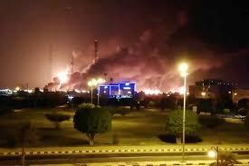 Houthi drone strike: Attacks spark huge inferno at two Saudi Arabian ...
