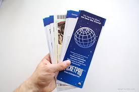 Brochure Design - Ticketpro | Ralev.com Brand Design