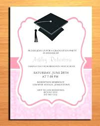 College Graduation Invitation Templates And Party Invites Of