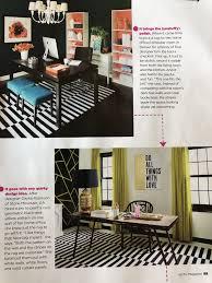 home office magazine. Fun Home Offices HGTV Magazine Jan 2018 Erin Iba, Designer Dayka Robinson, Office D