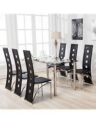 mecor gl dining table and chairs
