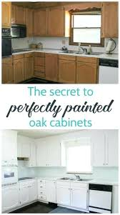 painting oak cabinets white an amazing transformation lovely etc brown wood kitchen