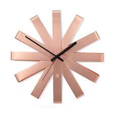 <b>Часы настенные</b> '<b>Ribbon</b>' <b>Медь</b> купить в интернет-магазине ...