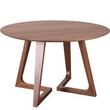 round walnut dining table. Godenza Round Dining Table Walnut U