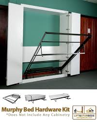 Wall bed kit Twin Size This Murphy Wallbed Hardware Kit By Lift Stor Beds Can Be Used With All Sizes King Queen Double And Single Beds Order Yours Online Today Sleepdocsinfo Murphy Bed Hardware Kit Diy Projects At Home Murphy Bed Bed
