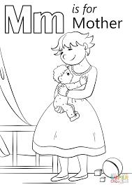 Mother Coloring Pages Printable Glandigoartcom