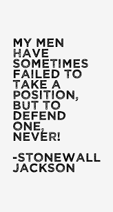 Stonewall Jackson Quotes Best Stonewall Jackson Quotes Sayings