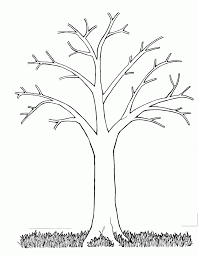 Small Picture Pictures Welcome Spring Tree Coloring Pages For Kids Picture Of A
