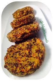 Hamburguesas De Berenjenas Light Hamburguesas De Quinoa Y Berenjena Receta Vegetariana