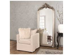 silver floor mirror. Contemporary Mirror Howard Elliott Tudor 38u0027u0027 W X 87u0027u0027 H Silver Floor Mirror On
