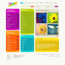 Mobile Website Templates Mobile Content Website Template 24 1