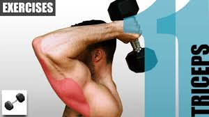 11 triceps exercises you can do with only one dumbbell