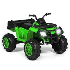 best choice products 12v powered extra large kids atv quad 4