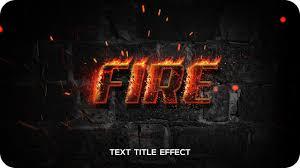 Fire Text Effect Psd Photoshop Tutorial Inspiring Bee
