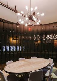 overhead office lighting. Industrial Kitchen Lighting Hanging At Different Lengths Adds Abstractness. | Bright Ideas: WeWork Pinterest Kitchens, Office Overhead R