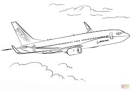 Boeing 737 Kleurplaat Gratis Kleurplaten Printen Kleurplaat