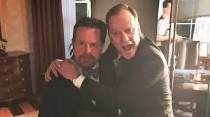 Michael J Fox Designated Survivor Parkinson S Michael J Fox Joins Instagram With Help From Kiefer Sutherland