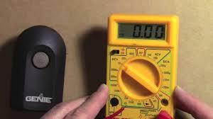 genie garage door opener batteryHow to test  change a battery  Genie Intellicode Remote Garage