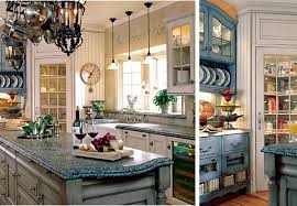 blue country kitchens. Blue Country Kitchen Designs Photo - 3 Kitchens
