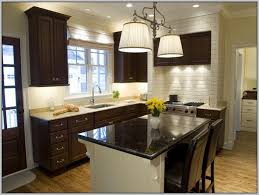 best wall colors for dark kitchen cabinets color ideas with