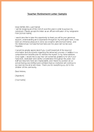 Sample Retirement Letter From Employer To Employee Good Resume