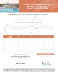 fillable 100 american express gift cheque for any group booking to fax email print pdffiller