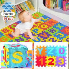 <b>Hot Sale 36pcs</b> Mini Puzzle Kid Educational Toy Alphabet Numeral ...