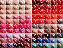 Essie Gel Colors Chart Essie Color Guide 1 100 Nailderella