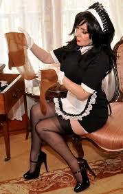 Sissy maid threesome videos