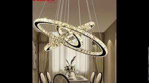 modern led crystal chandelier lights lamp for living room
