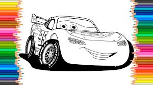 Lightning Mcqueen Coloring Pages Cars 2l