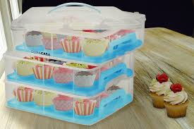 36 Cupcake Carrier Inspiration DuraCasa Cupcake Carrier Cupcake Holder Store Up To 60 Cupcakes Or
