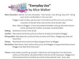 "english eoc review ruppel lee ppt video online  4 ""everyday use"" by alice walker"
