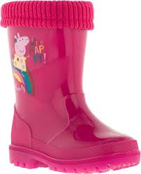 <b>Сапоги</b> резиновые для девочки Kakadu <b>Peppa Pig</b>, цвет: фуксия ...