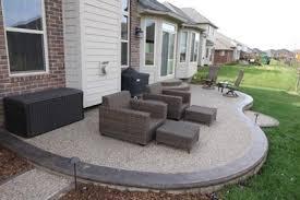stamped concrete patio. Stamped Concrete Patios Michigan Patio
