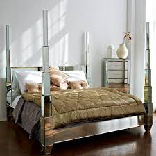 Image great mirrored bedroom Mirrored Furniture Image Of Mirror Bed Frame Design Posey Booth Headboard Mirror Bed Frame Mirror Ideas Nice Design Of Mirror