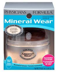 Physicians Formula Mineral Wear Talc Free Loose Powder Translucent Light 0 49 Oz