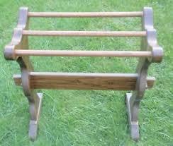 Vintage Solid Pine Quilt Rack ** | eBay & Image is loading Vintage-Solid-Pine-Quilt-Rack Adamdwight.com