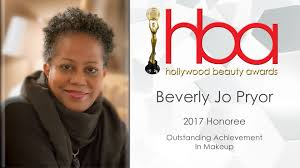 beverly jo pryor is our 2017 honoree for outstanding achievement in makeup