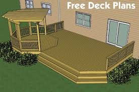 Backyard Deck Designs Plans Awesome Design Ideas